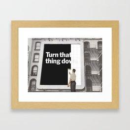 Lessons in Silence Framed Art Print