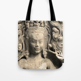 Pattern of Angkor wat Tote Bag