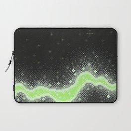 Agender Pride Flag Galaxy (Pixel Art) Laptop Sleeve