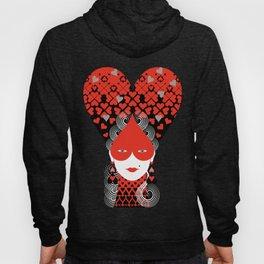 The queen of hearts Hoody