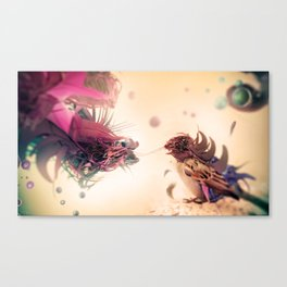 The Pathogen Canvas Print