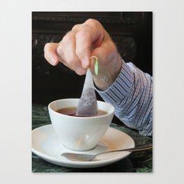 Tea Time in Ireland Canvas Print