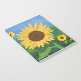 Sunflower Day Notebook