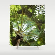 Ticket to the Tropics Shower Curtain