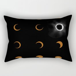 Total Solar Eclipse August 21 2017 Rectangular Pillow