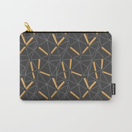 Yellow Prisma Carry-All Pouch