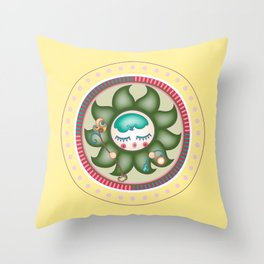 flower sire Throw Pillow