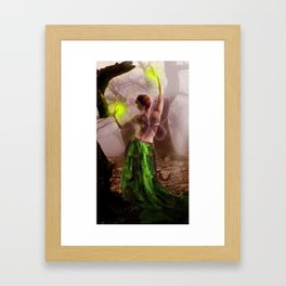 Dance of the lonely Fairy Framed Art Print