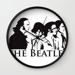 Paul, John, George and Ringo Wall Clock
