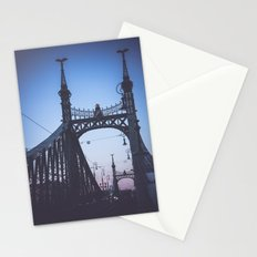 Freedom bridge - summer sunset V. Stationery Cards