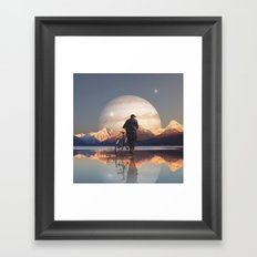 Why is there not nothing? Framed Art Print