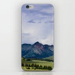 Electric Peak Yellowstone iPhone Skin