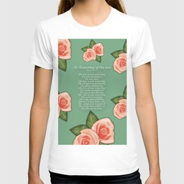 No Waivering of His love By Feon Davis T-shirt