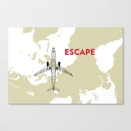 Escape Canvas Print