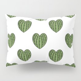 Cactus Hearts Pillow Sham