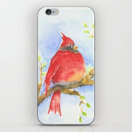 Mr. Cardinal iPhone Skin
