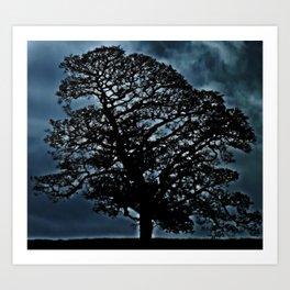 Tree. A simple tree. Art Print