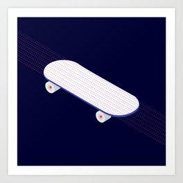 Possessed To Skate Art Print
