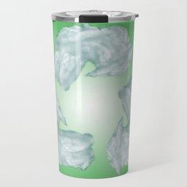 recycling eco symbol Travel Mug