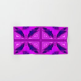 Softly lilac ornamentation Hand & Bath Towel