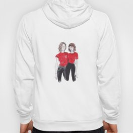 red twins Hoody