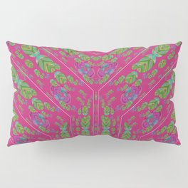 Infinities of Love in Abstract Pink Pillow Sham