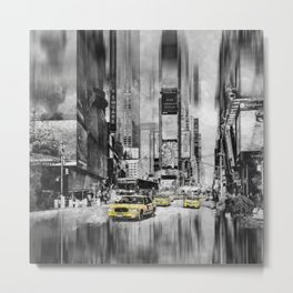 New York Times Square Metal Print