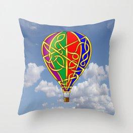 Balloon Knot Throw Pillow