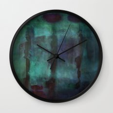 Abstract - Silhouette Wall Clock