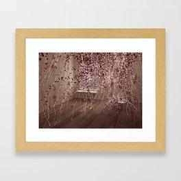 Electric Flowers Framed Art Print