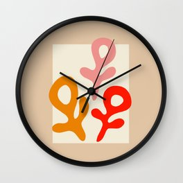 L'ART DU FÉMINISME II Wall Clock
