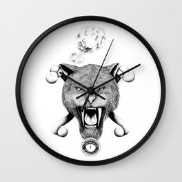 Lost Exploration Wall Clock