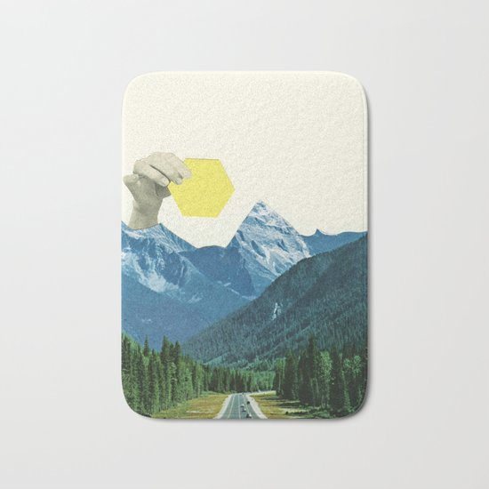 Moving Mountains Bath Mat