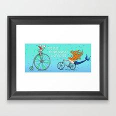 Star Crossed Lovers Mug Framed Art Print