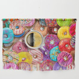 Donuts & Coffee Wall Hanging