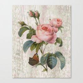 Roses Nostalgie Canvas Print