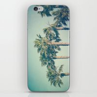 palms iPhone & iPod Skins featuring Palms by Laura Ruth