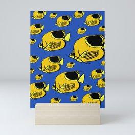 Yellow Sunfish Mini Art Print