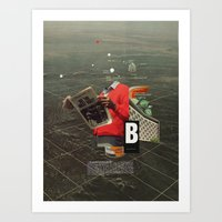 butterfly Art Prints featuring Butterfly by Frank Moth