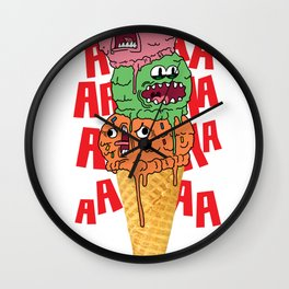 Ice Scream Wall Clock