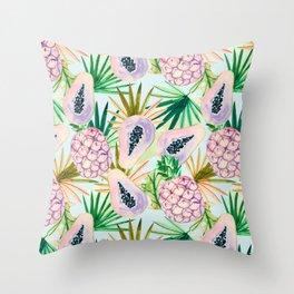 Tropical style 01 Throw Pillow