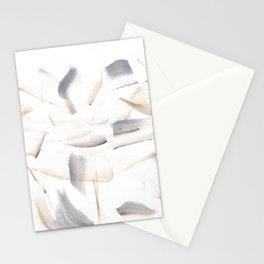 180630 Grey Brown Black Neutral Abstract Watercolour 7 | Watercolor Brush Strokes Stationery Cards