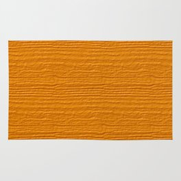 Radiant Yellow Wood Grain Color Accent Rug