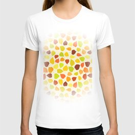 Linden tree autumn leaves T-shirt