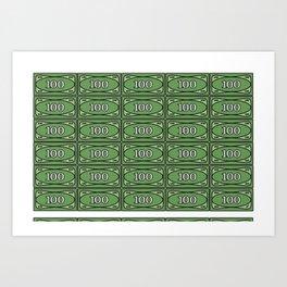 Printing LEGO® Money I Art Print