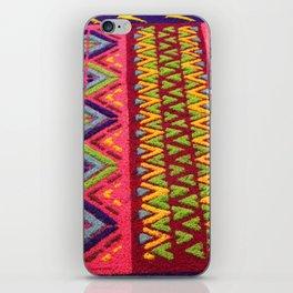 Colorful Guatemalan Alfombra iPhone Skin
