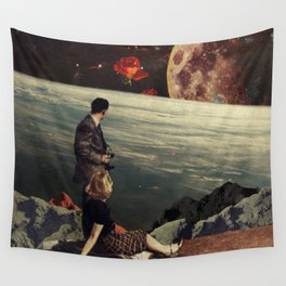The Roses Came Wall Tapestry