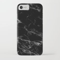 Black Marble Slim Case iPhone 7