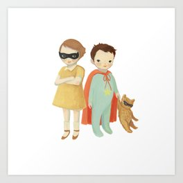 Superhero Kids by Emily Winfield Martin Art Print
