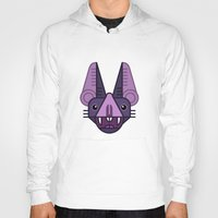 bat Hoodies featuring Bat! by FOUR SECOND MEMORY